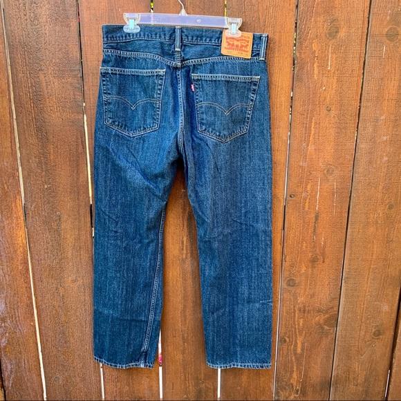 Levi's Other - Levi Strauss EUC Medium Wash Straight Leg Jeans